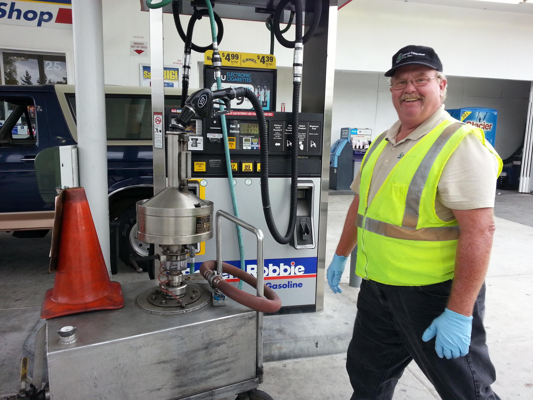 Gas Pump Meter